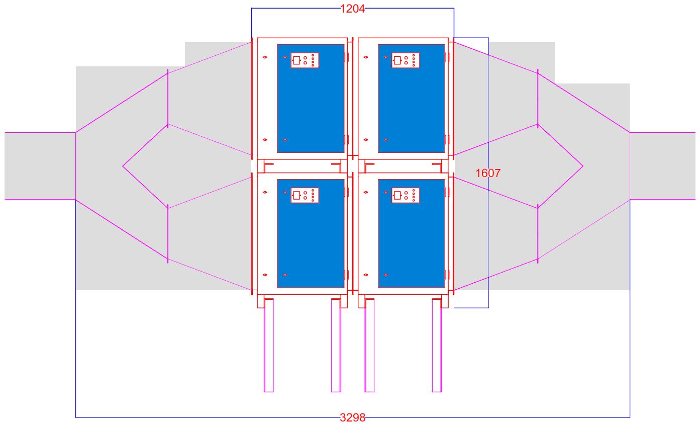 Sơ đồ máy lọc tĩnh điện Nion 16000